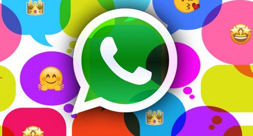 ¿Quieres tener las famosas burbujas de Facebook Messenger, pero en WhatsApp? Con este truco lo lograrás. (Foto: Captura)