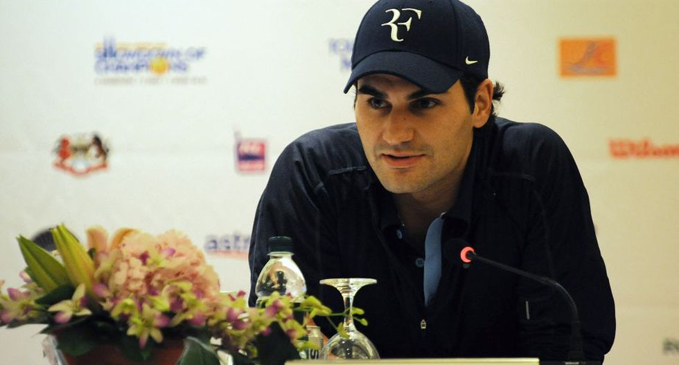 Otra marca importante que patrocina a Roger Federer es Rolex. El suizo ha posado diferentes veces con uno de estos relojes en la muñeca. (AFP)