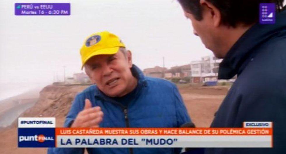 Luis Castañeda Lossio defendió su tercera gestión. (Foto: Punto Final/Latina)