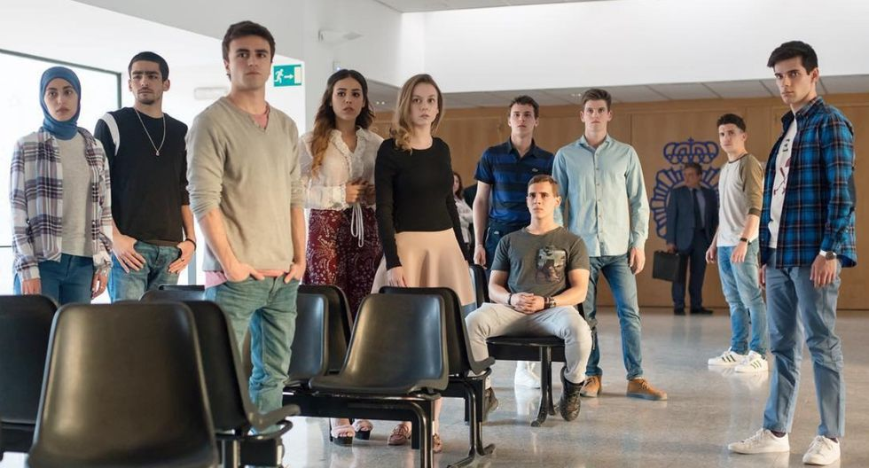 """Élite"": Netflix revela la fecha de estreno de la segunda temporada (Foto: Élite/Netlfix)"