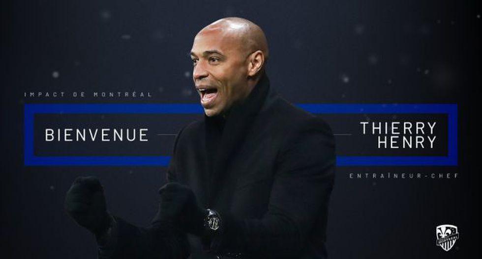 Thierry Henry se convirtió en nuevo entrenador del Montreal Impact de la MLS. (Foto: Montreal Impact)