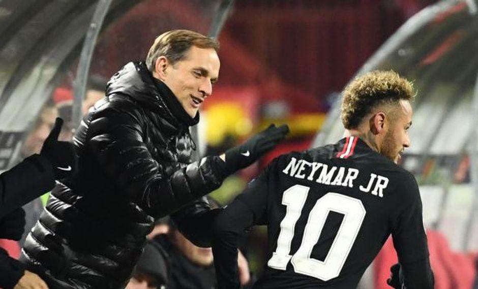 Tuchel firmó una extensión de contrato para permanecer como entrenador del PSG hasta el final de la temporada 2020-21. (Foto: AFP)