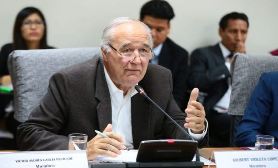 García Belaunde sobre la Mesa Directiva: 'Mi nombre es muy voceado, pero eso no significa nada'