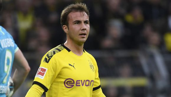 Mario Götze es jugador de Borussia Dortmund desde la temporada 2016-17. (Foto: AFP)