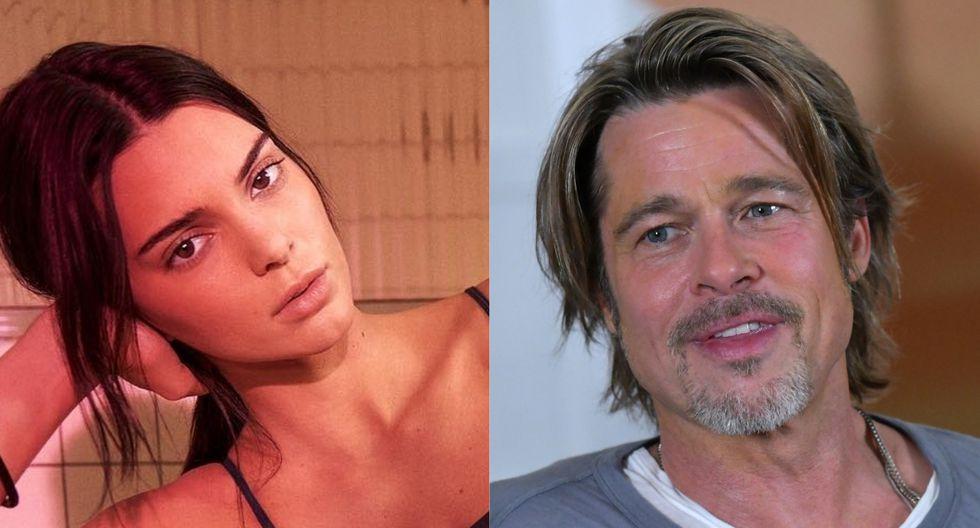 Kendall Jenner se negó a conocer a Brad Pitt. (Fotos: AFP/@kendalljenner)
