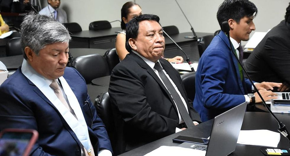 José Luna Gálvez, fundador del partido Podemos Perú, estuvo presente en la audiencia que fue suspendida. (Foto: Difusión)