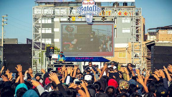 La semifinal de la Batalla de los Gallos se disputa este sábado en Chorrillos (Foto: RedBull)