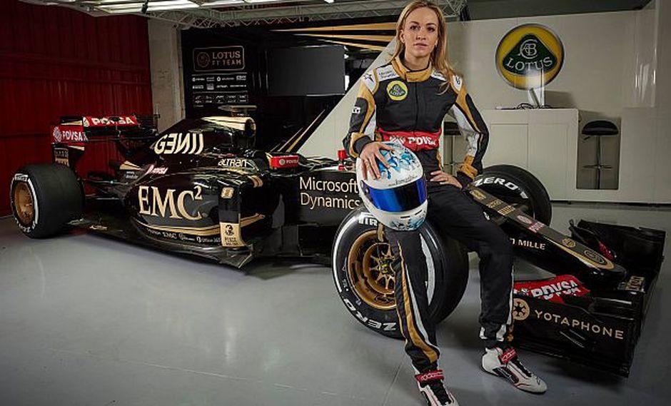 La piloto Carmen Jordá de la escudería Lotus (Foto: automobili.hr)