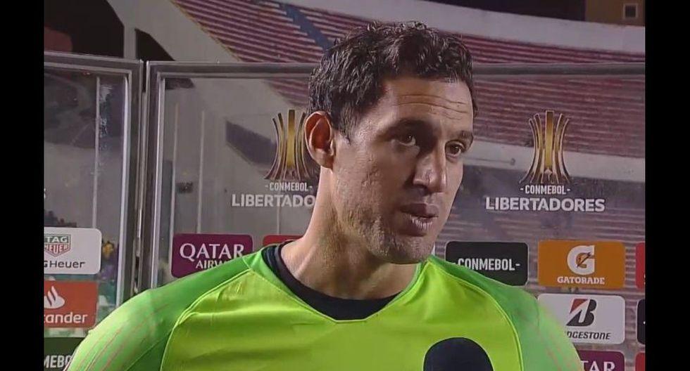 Martín Silva (Defensor Sporting) juega actualmente en Libertad. (Foto: AFP)