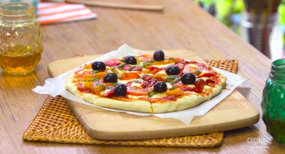 La combinación de salsa de tomate y pesto, es perfecta para este platillo. (Foto: Cucinare)