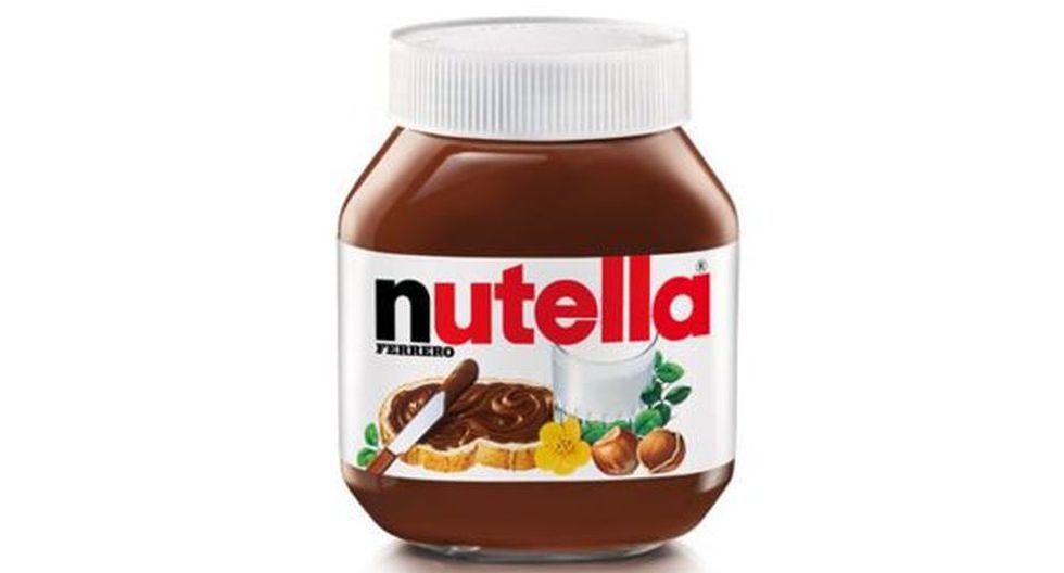 Crema de chocolate y avellanas Nutella.