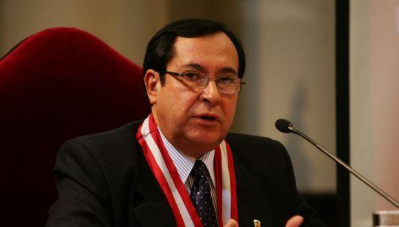Víctor Prado Saldarriaga consideró que la inmunidad solo debería tenerla los parlamentarios. (Foto: GEC)