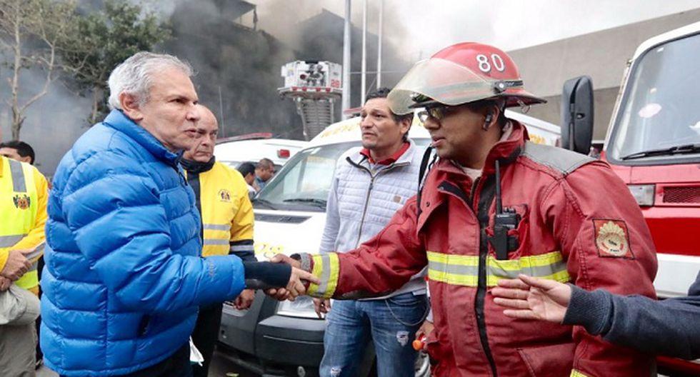 Foto: Twitter Municipalidad de Lima