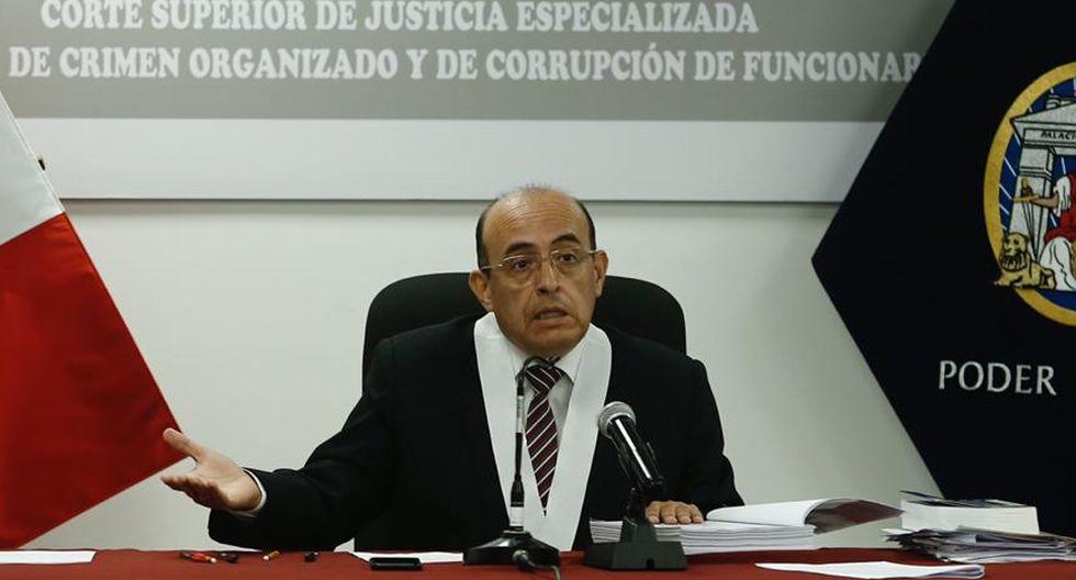 La audiencia es presidida por el juez Víctor Zúñiga. (Foto: Joel Alonzo / GEC)