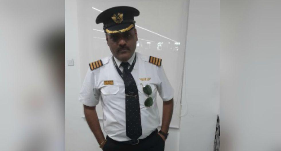 """La detención se produjo después de que el sujeto fuera reportado como un """"pasajero sospechoso"""" por el jefe de seguridad de una aerolínea. (Foto: Twitter/ANI)"""