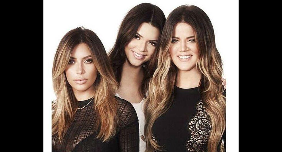 5.El 'reality' televisivo familiar, 'Keeping up with the Kardashians', le significaría entre veinte y treinta millones de dólares al año. (Fuente: Facebook de Kim Kardashian)