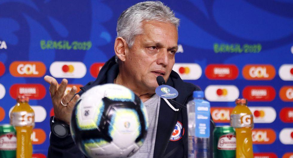 """""""Enfrentamos a un gran rival que resolvió el juego muy temprano, en 20 minutos. Pienso que en el segundo gol se resuelve el partido, después intentamos y no se dio"""", consideró Rueda. (Foto: EFE)"""