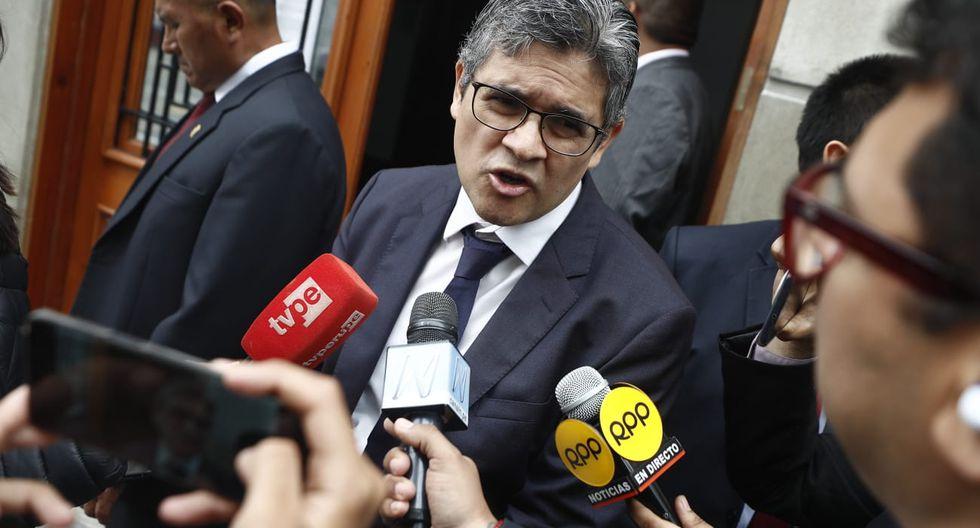 El fiscal José Domingo Pérez continuará con los interrogatorios a empresarios y ejecutivos esta semana. (Foto: César Campos / GEC)