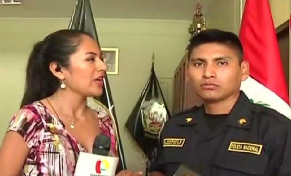 """""""Lo que me llevó a intervenir es la vocación de servicio"""", dijo Lorenzo Machaca. (Captura 24 Horas)"""