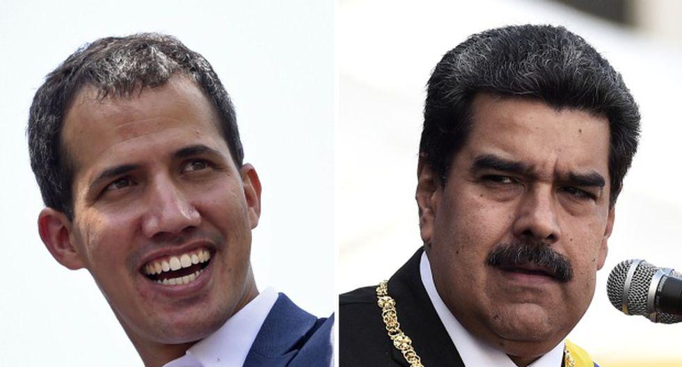 """""""Vamos a seguir en todos los terrenos de lucha"""", dijo Juan Guaidó. (Foto: AFP)"""