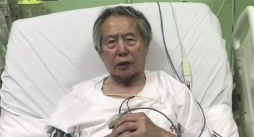 Alberto Fujimori fue indultado por el ex presidente Pedro Pablo Kuczynski en diciembre del 2017. (Foto: Difusión)