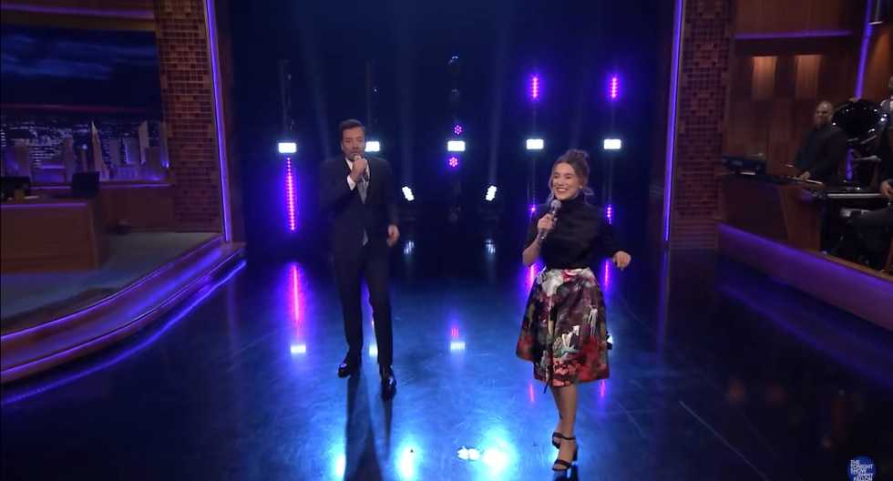 Millie Bobby Brown sorprende al cantar durante el show de Jimmy Fallon (Foto: Captura de pantalla)