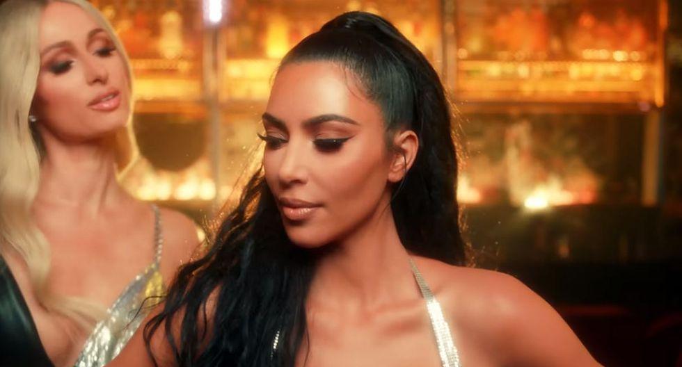 Kim Kardashian confiesa que le debe gran parte de su carrera a Paris Hilton. (Foto: Captura)