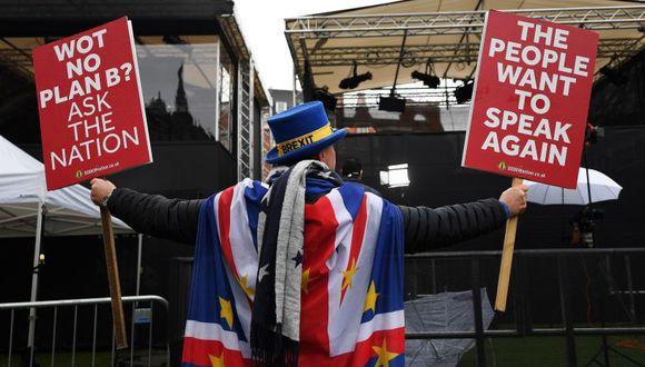 """Un 10 % dijo estar feliz con el """"brexit"""", y un 19 % aseguró que el proceso no les ha afectado a nivel emocional. (Foto: EFE)"""