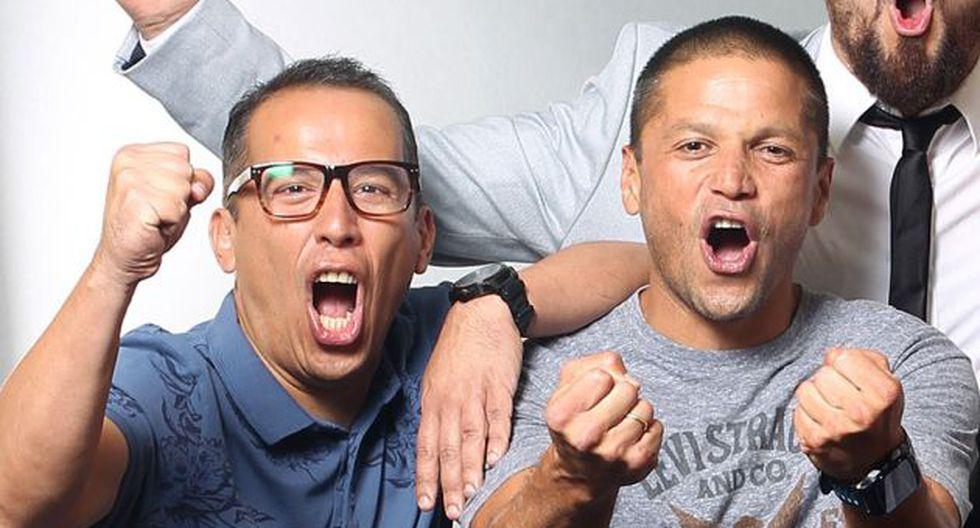 Daniel Peredo y las palabras que le dedicó Pedro García en plena transmisión del Perú vs. Colombia. (Foto: Alessandro Currarino)