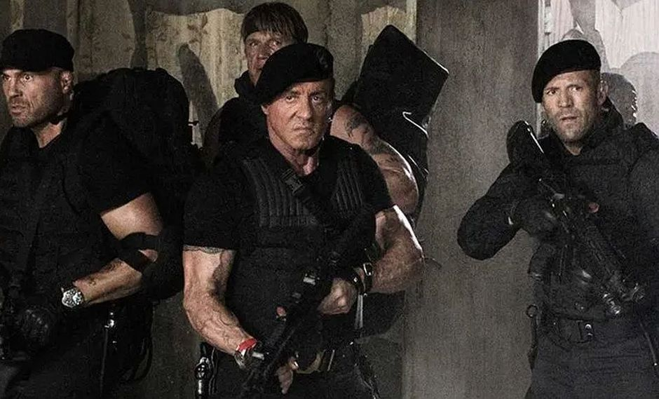 Sylvester Stallone está trabajando en la cuarta entrega de 'Los Indestructibles' | FOTOS