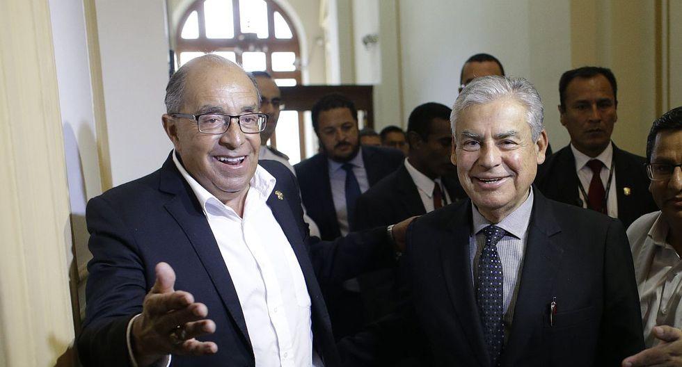 El presidente del Consejo de Ministros, César Villanueva, consideró que nadie debe tener privilegios ante la justicia. (Foto: GEC)