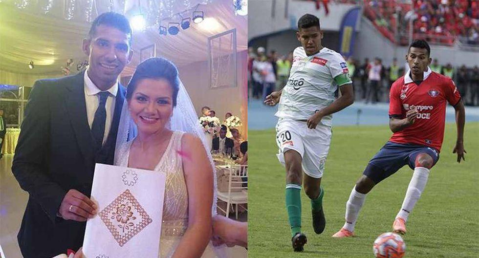 La historia del boliviano Gílbert Álvarez: jugó el partido por el título con Wilstermann y luego se contrajo matrimonio. (Foto: Facebook)