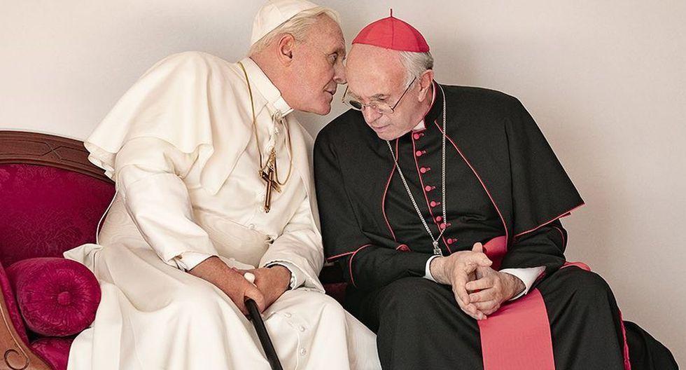 """Netflix lanzó el tráiler oficial de """"The Two Popes"""", la película sobre los papas Francisco y Benedicto XVI. (Foto: Captura de video)"""