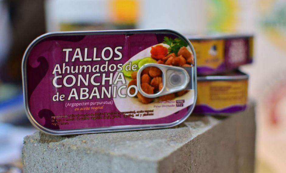 La conserva hecha a base de concha de abanico busca ser comercializado en supermercados del país. (ITP)