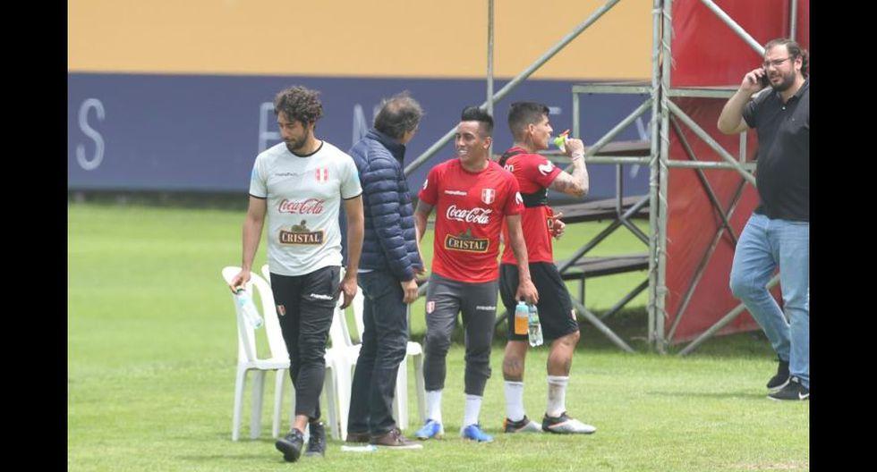 La selección peruana tuvo su cuarto día de entrenamientos con miras al amistoso ante Uruguay. (Foto: Violeta Ayasta / GEC)