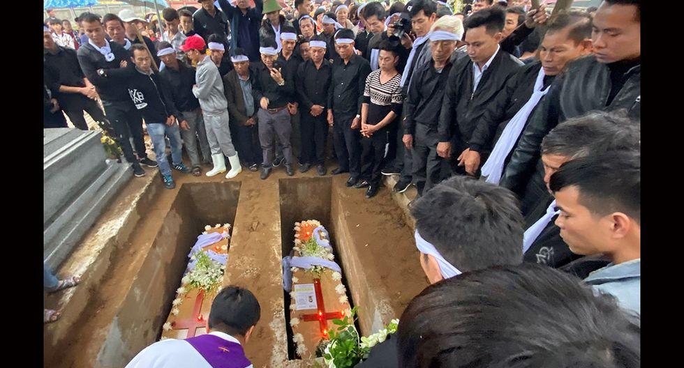 Las víctimas, todos los migrantes de Vietnam, fueron encontrados muertos en un camión refrigerado en Essex, Gran Bretaña. (Foto: EFE)
