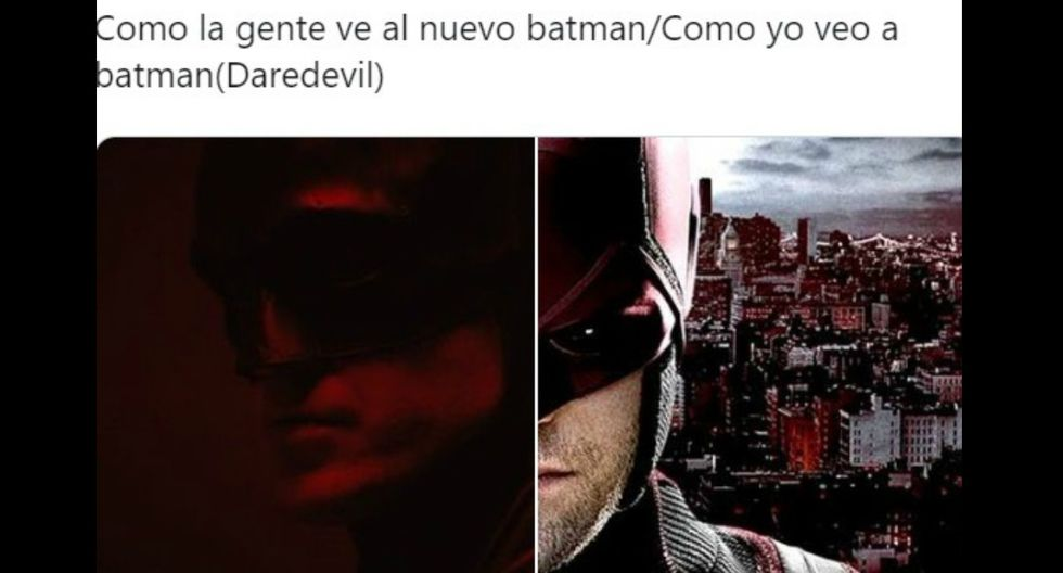 Robert Pattinson hizo su primera aparición como Batman y las redes sociales reaccionaron como mejor saben hacerlo: con memes. (Foto: Facebook)