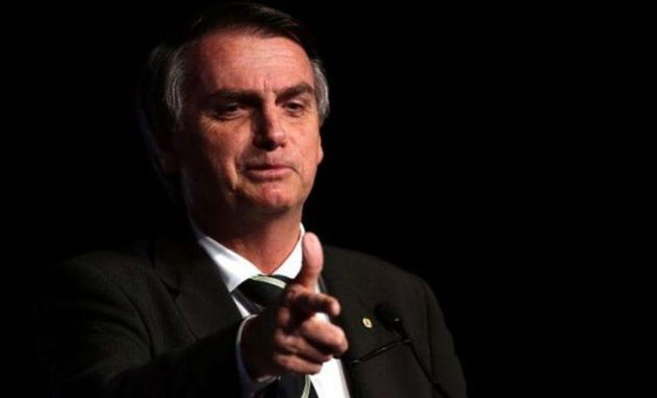 Jair Bolsonaro lidera los sondeos para la segunda vuelta presidencial con el 58% (Foto: EFE)