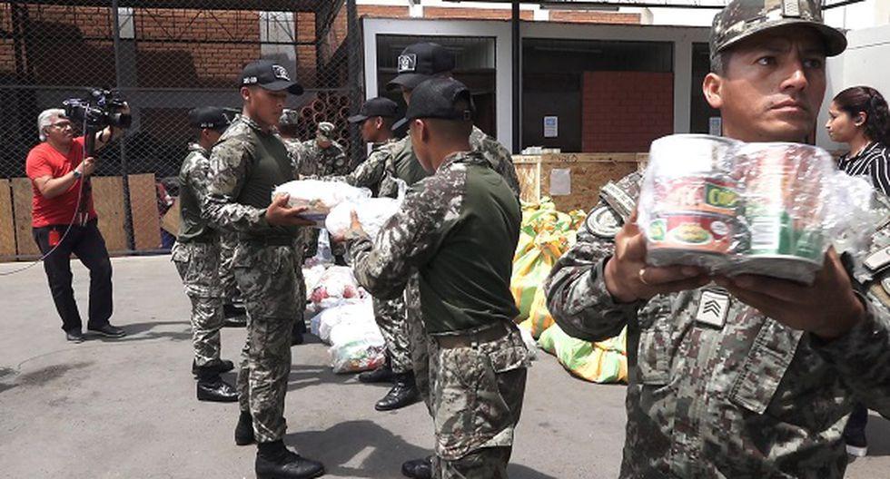 Parte de las donaciones arribaron a Piura.(Foto: Captura/GEC)