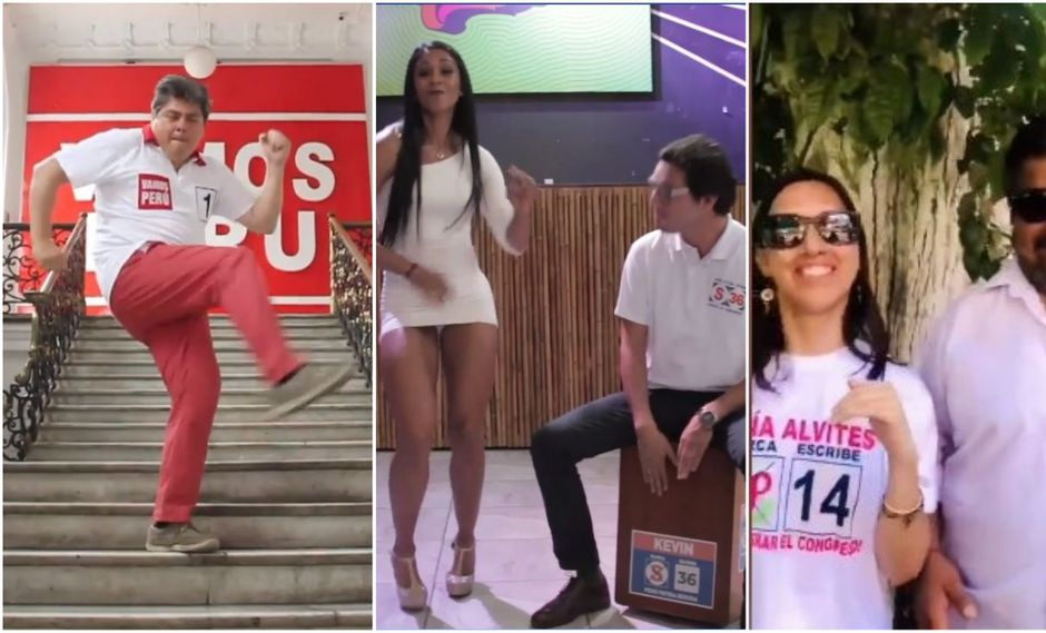 Algunos candidatos suben videos a las redes sociales cantando o bailando para conseguir más votos.