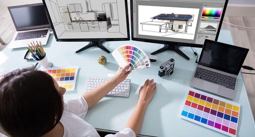 No es necesario que cuentes con conocimientos previos de diseño para acceder a esta beca (Foto: Shutterstock)