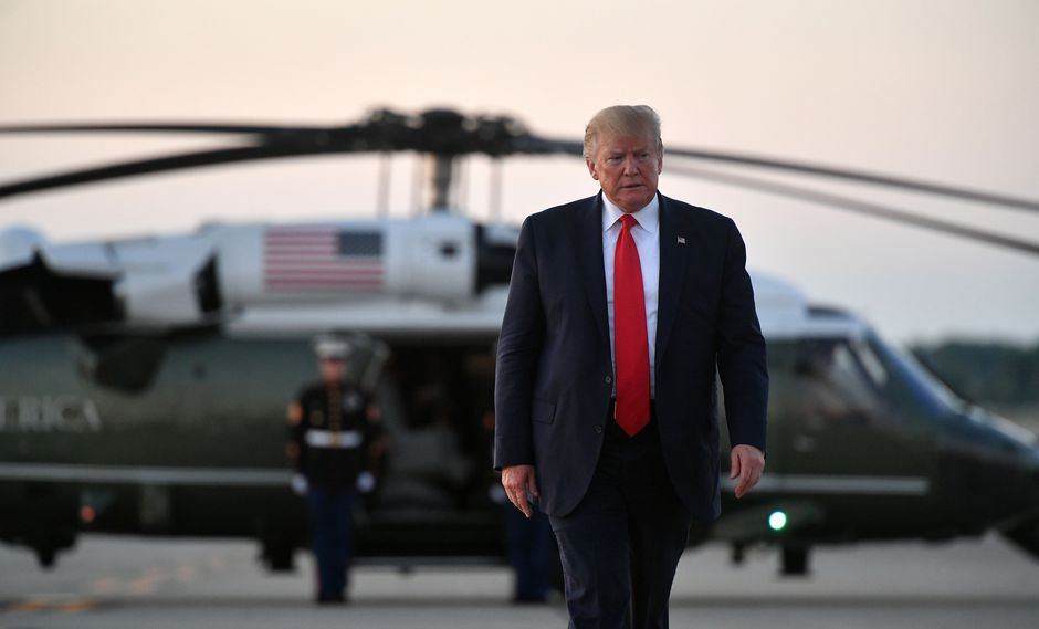 """Trump arremete contra congresistas demócratas y les dice que """"vuelvan"""" a su país"""