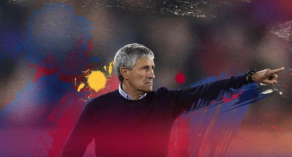 Quique Setién es el nuevo entrenador de Barcelona. (Foto: FC Barcelona)