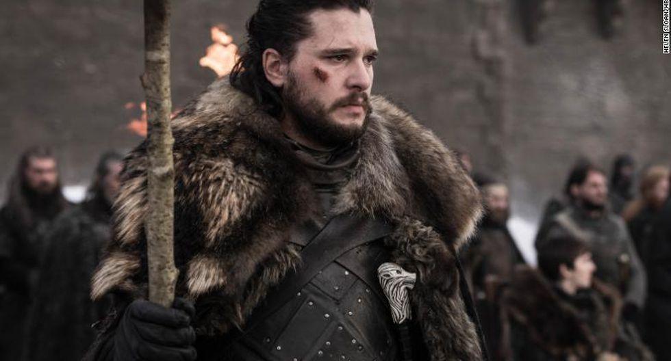 Jon Snow se transformó en el héroe de la serie en el episodio de final de .Game of Thrones. (FOTO: HBO)