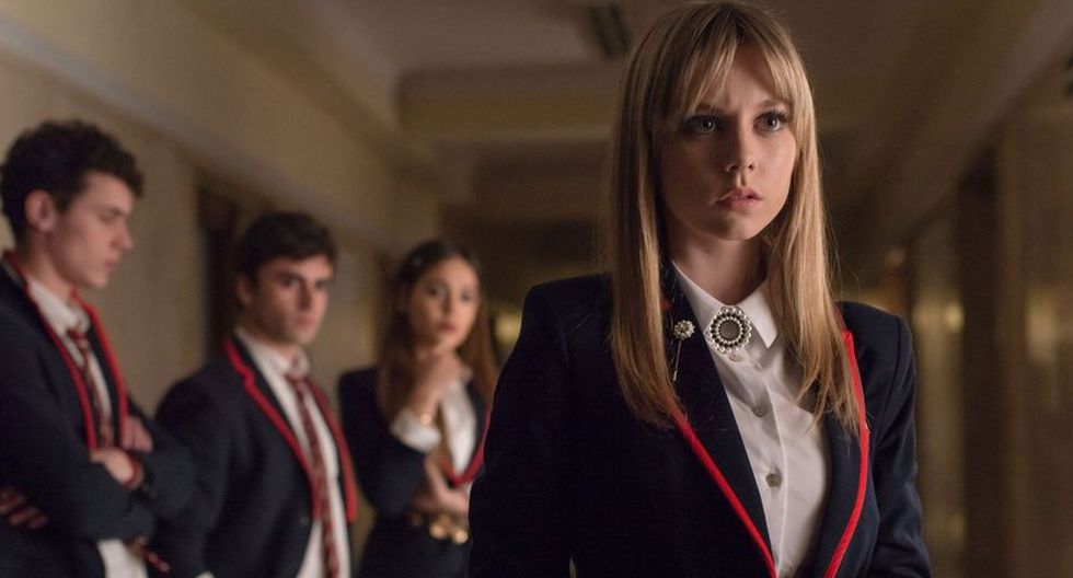"""""""Élite"""": Actores de la serie protagonizan una memorable sesión detrás de cámaras. (Foto: Netflix)"""
