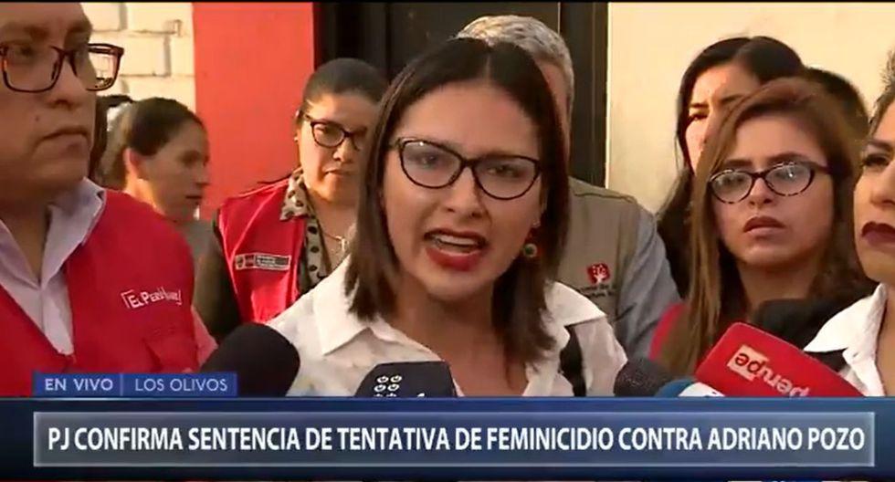 Arlette Contreras expresó su indignación contra el fallo emitido por la Primera Sala Penal de Apelaciones de la CSJLN. (Foto: Captura Canal N)