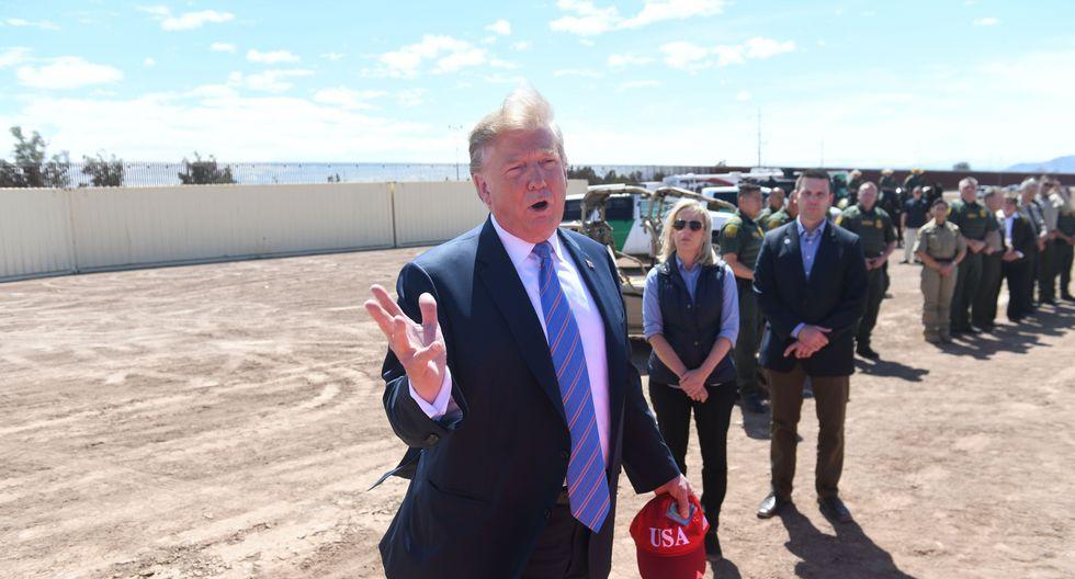 """Donald Trump considera su cruzada contra la """"crisis"""" en la frontera como un eje central de la campaña para la reelección en 2020. (Foto: AFP)"""