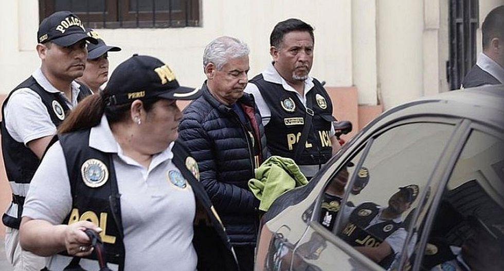 César Villanueva estuvo detenido de manera preliminar por 7 días. (Foto: GEC)