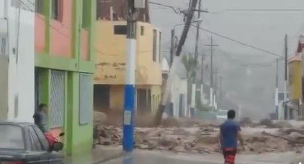 Este desastre natural ha dejado tres muertos 9 heridos y decenas de viviendas afectadas, según informó Indeci a través del portal del COEN. (Foto: Facebook/@clickcompe)