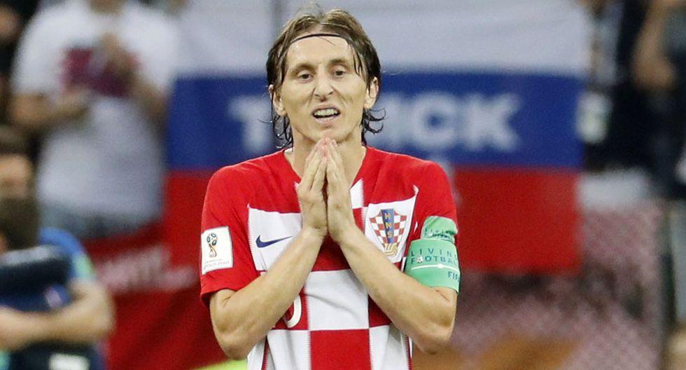 Luka Modric no pudo ganar con Croacia el Mundial Rusia 2018 (perdió ante Francia en la final), pero se quedó con el premio The Best de la FIFA y el Balón de Oro. (Foto: EFE)